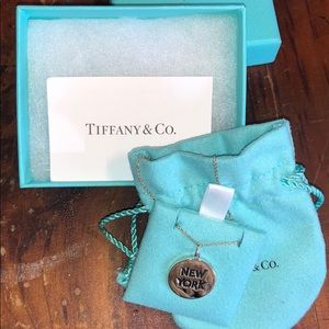 Authentic Tiffany & Co NY Pendant Necklace
